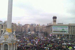 Предприниматели останутся на Майдане на ночь, несмотря на запрет суда