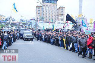Милиция угрожает митингующим на Майдане уголовными делами