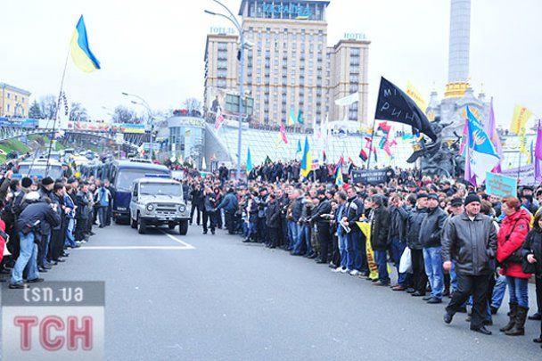 Опозиція заявляє, що без неї не було б Майдану