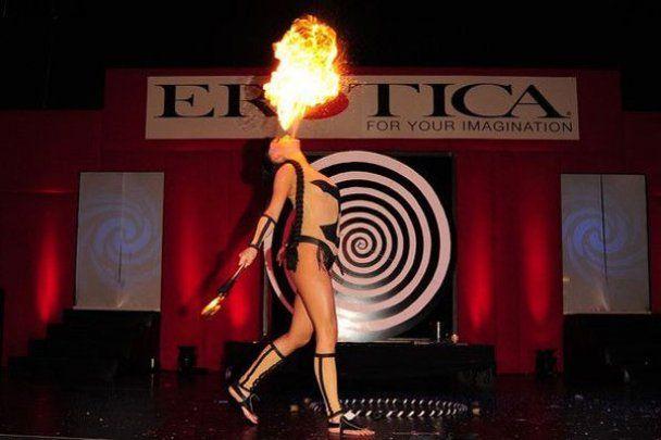 Выставка Erotica 2010 в Лондоне