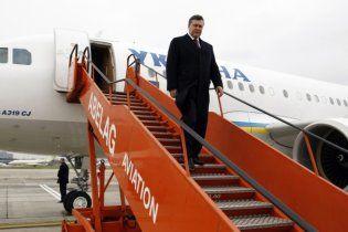 Янукович поїхав до Латвії