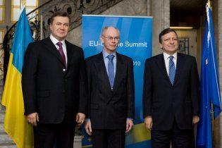 Европа отнесла визит Януковича к второстепенным