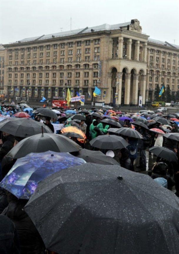 Підприємці відмовились залишити Майдан