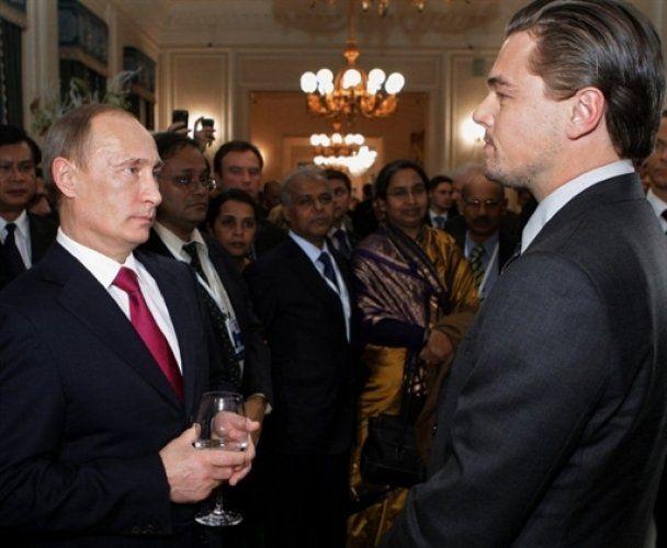 ДіКапріо розповів, що є наполовину росіянином