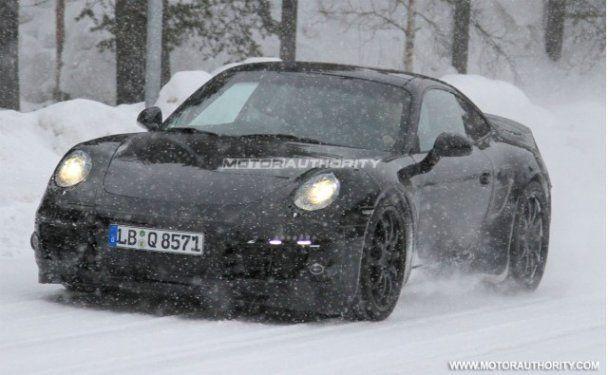 Рассекречен Porsche 911 нового поколения