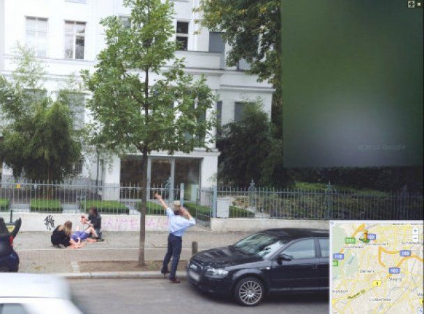 Google Street View зняв народження дитини на вулиці