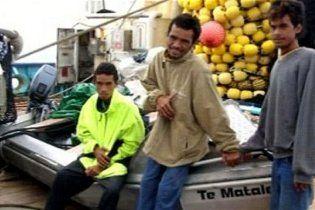 В Тихом океане спасли подростков, которые 50 дней провели в воде