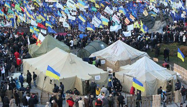 Организатор акций протеста объявил новый Майдан за отставку Януковича
