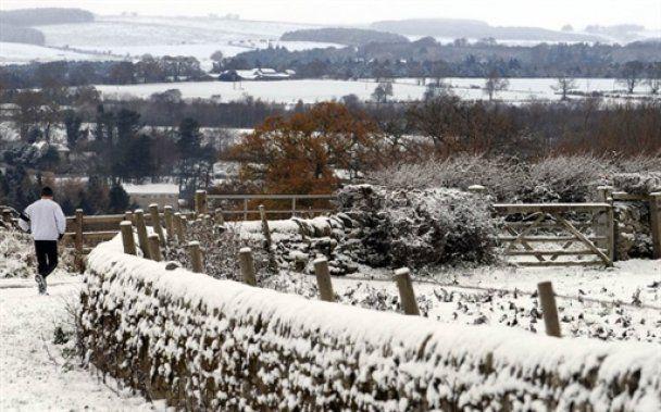 В Британию впервые за 17 лет пришла ранняя зима
