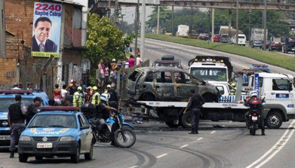 На улицы Рио-де-Жанейро вышли танки: среди жертв 14-летняя девочка