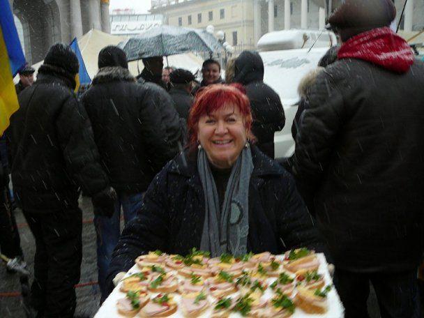Понеділковий мітинг на Майдані закінчився