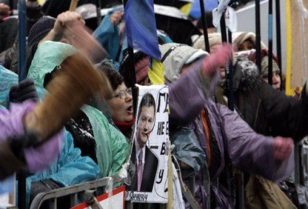 Предприниматели уйдут с Майдана, если Налоговый кодекс перенесут