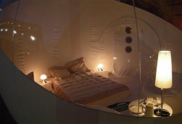 Заночевать под звездным небом можно за 625 долларов