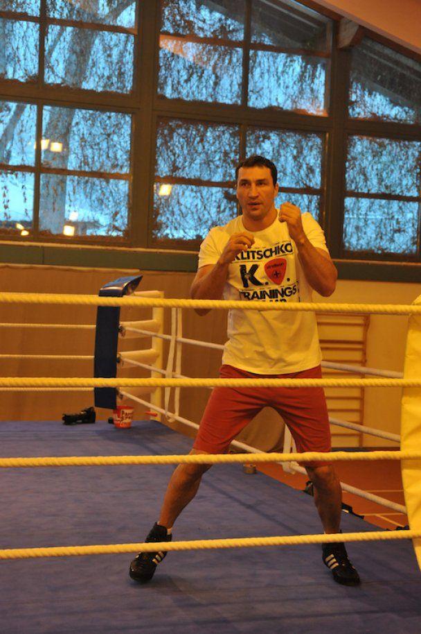 Кличко завершує підготовку до бою з Чісорою