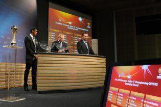 Збірні України отримали суперників у відборі на Євро-2012