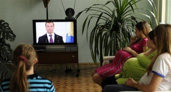 Дмитро Мєдвєдєв і діти