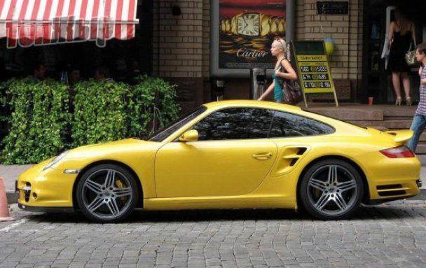 Porsche Черновецкого разбился в ДТП