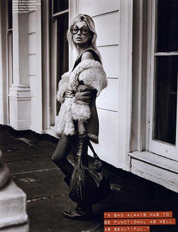 Зимняя Кейт Мосс рекламирует Gucci