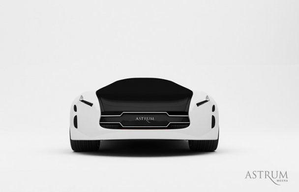 Создан концепт-кар будущего с магнитной левитацией