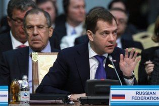 Дмитро Мєдвєдєв розчарований в ОБСЄ