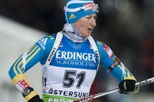 Українка зупинилась за крок від медалі у першій гонці сезону в біатлоні