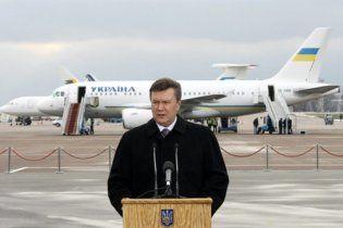 Кроме вертолета Януковичу купят три самолета