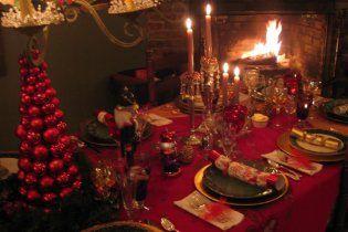 Новогодний стол обойдется украинцам в 800 гривен