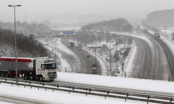 В Европе появились первые жертвы сильных холодов и снегопадов