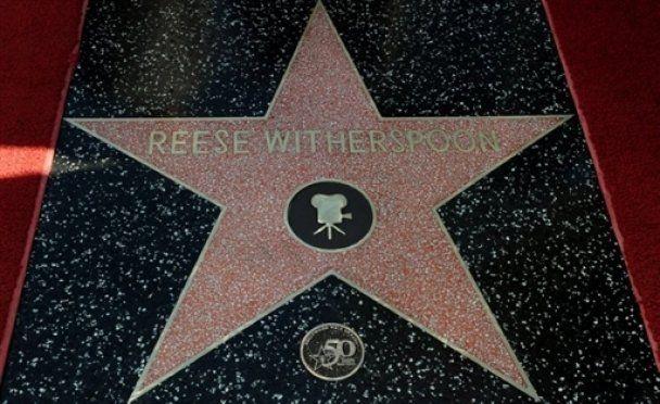 У Різ Візерспун з'явилась зірка на Алеї слави