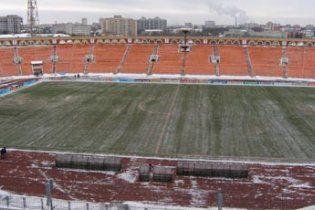 На территории стадиона к Евро-2012 обнаружили минометную мину