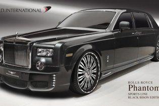 """Японці """"одягли"""" Rolls-Royce Phantom EWB у """"шкуру чорного бізона"""""""