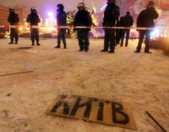 Демонтаж наметового містечка на Майдані_7