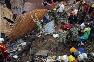 Майже 200 осіб зникли безвісти в результаті зсуву в Колумбії