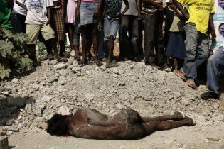 У столиці Гаїті лінчували крадія, забивши його камінням