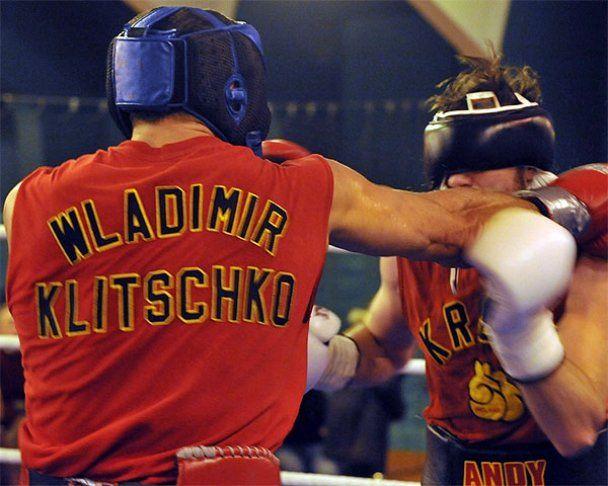 Владимир Кличко готовится к бою с Чисорой