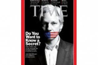 """Time намерен назвать основателя WikiLeaks """"человеком года"""""""