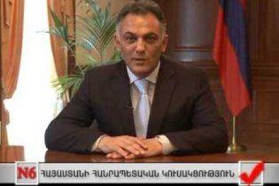Мер Єревана побив президентського чиновника через концерт Пласідо Домінго