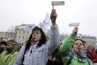 У Чехії пройшов один з найбільших страйків з часів оксамитової революції