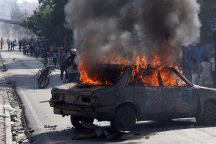 На Гаїті почалися масові протести після першого туру президентських виборів