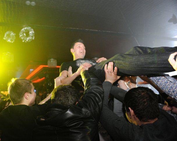 """Как """"Шахтер"""" отпраздновал историческую победу в Лиге чемпионов (фото)"""