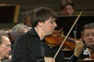 Скрипач Джошуа Белл дал Нобелевский концерт