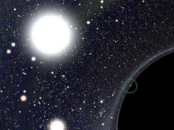 """Астрофизики показали """"кривое зеркало"""" Вселенной вокруг черной дыры"""