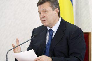 Янукович заявил о расширении участия Украины в СНГ