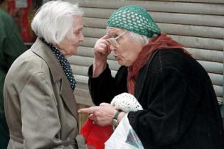 Треть украинцев скоро будут пенсионерами