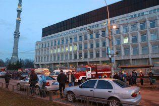 """В московской телебашне """"Останкино"""" произошел пожар, эвакуировали 15 человек"""
