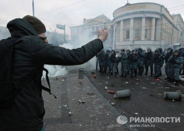 Футбольные фанаты устроили кровавые бойни по всей Москве