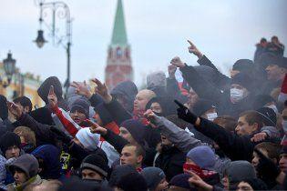 У Москві на Манежну площю стягують міліцію та ОМОН