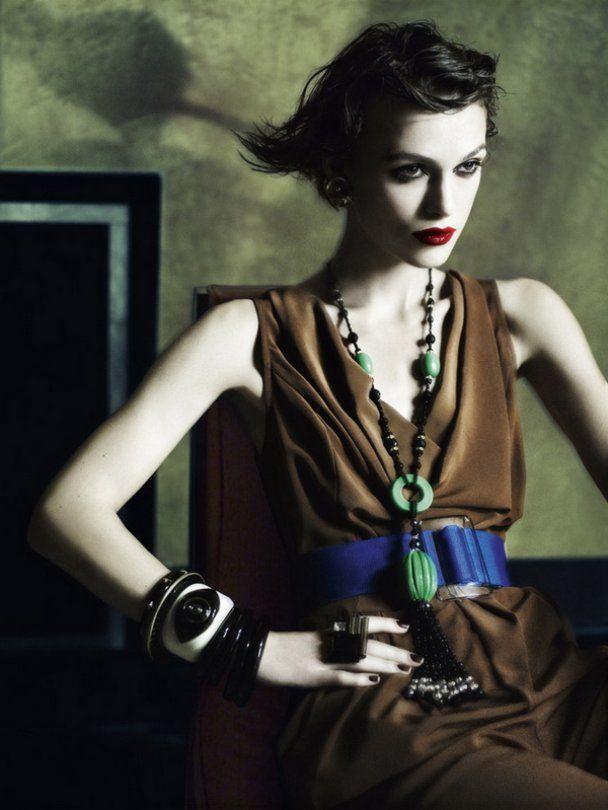 Гламурна Кіра Найтлі знялась для Vogue UK
