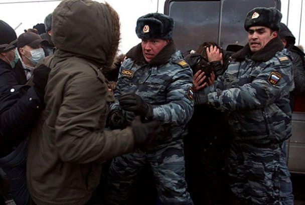 Футбольные фанаты устроили в Москве кровавую бойню