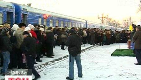 """""""Укрзализныця"""" запустила новый поезд"""